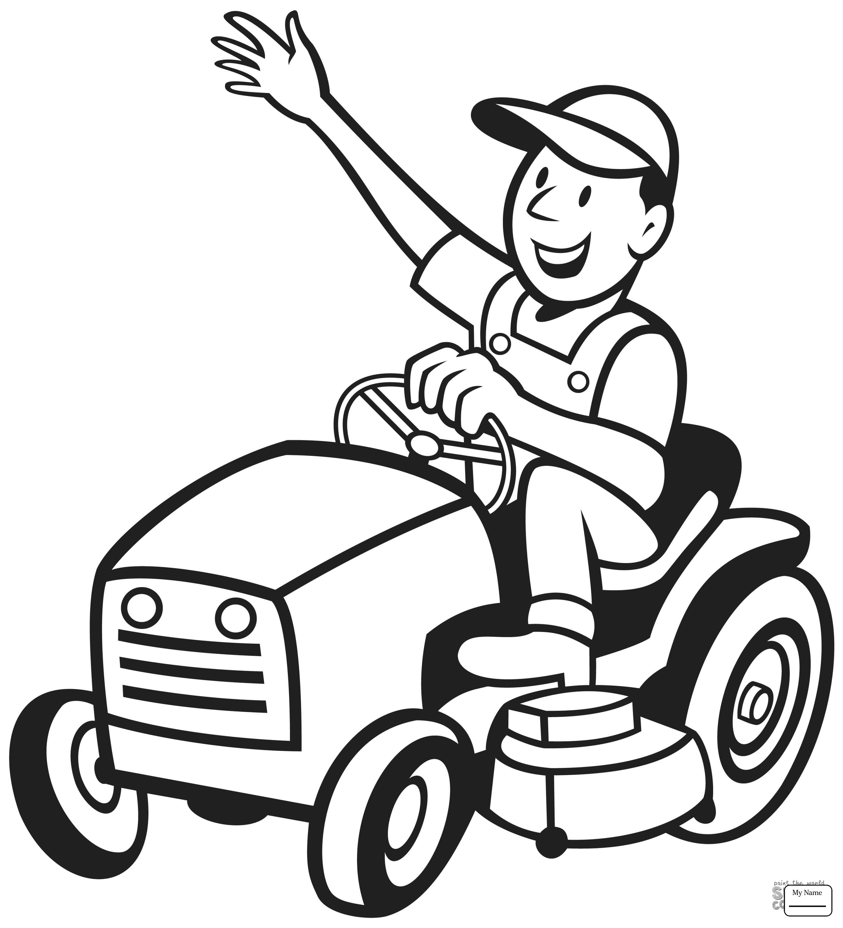 2791x3072 Coloring Pages John Deer Tractor Transport Special Transport