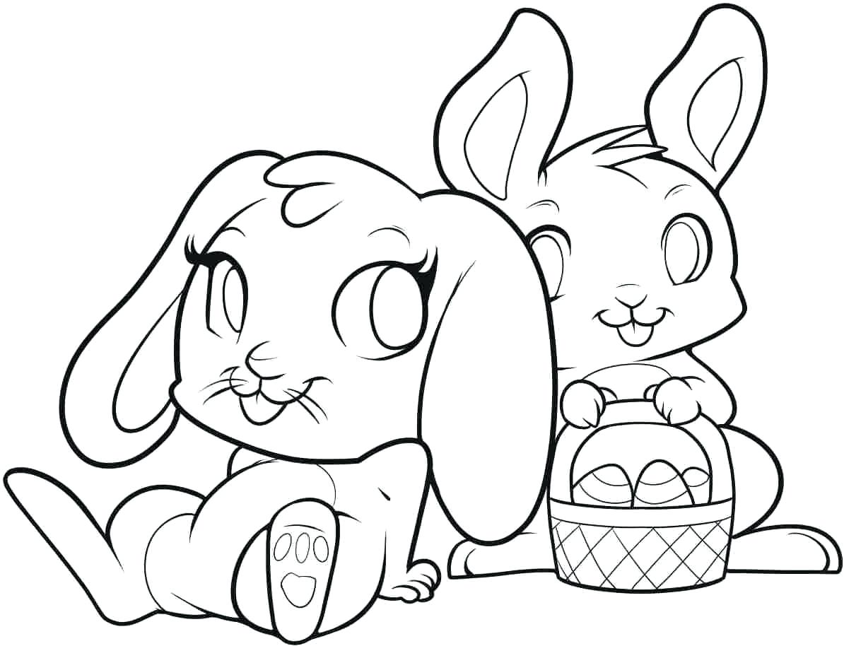 Simple Bunny Face Drawing at GetDrawings.com   Free for personal use ...
