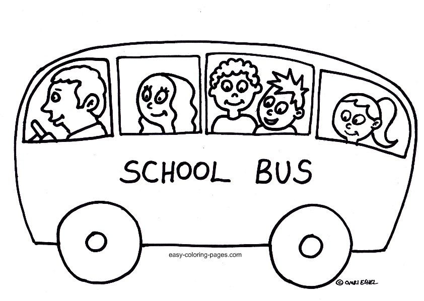 842x598 School Bus Coloring Pages To Download And Print For Free