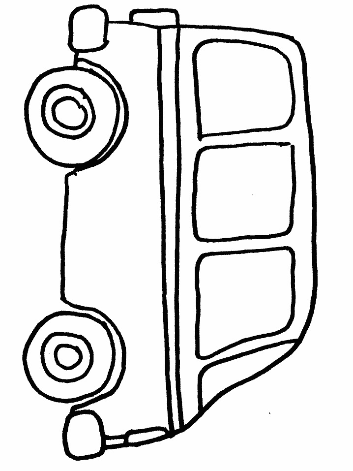718x957 Verkeer Coloring Pages Bus Safety, Preschool