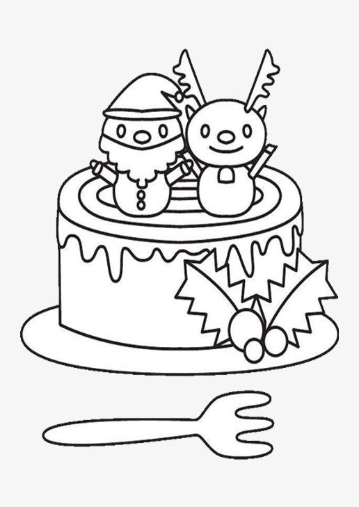 516x729 A Simple Christmas Cake, Jane, Demon Cake, Santa Png Image
