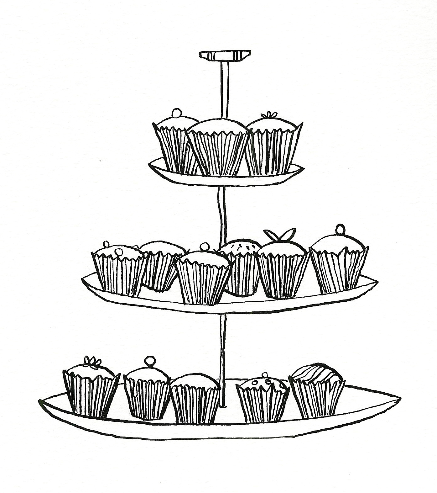 1395x1572 Cake Stand