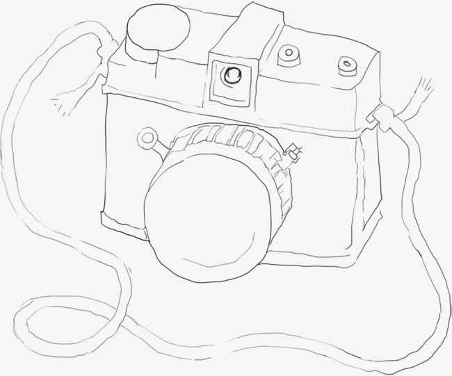 650x541 Hand Painted Simple Camera Download, Hand Painted, Simple, Comics