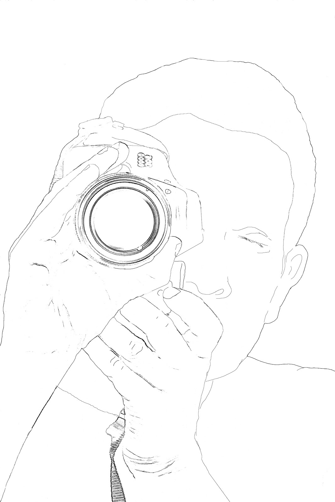 1066x1600 Stock Pictures Man With Camera Silhouette And Sketch