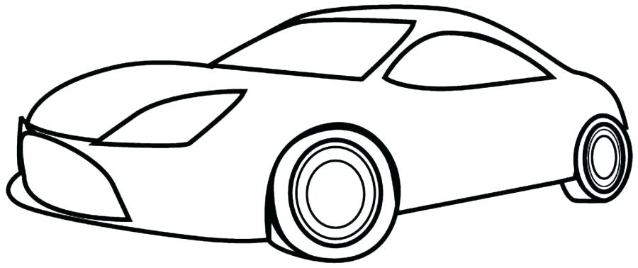 900x378 Simple Car Coloring Pages Free Printable Race Car Coloring Pages