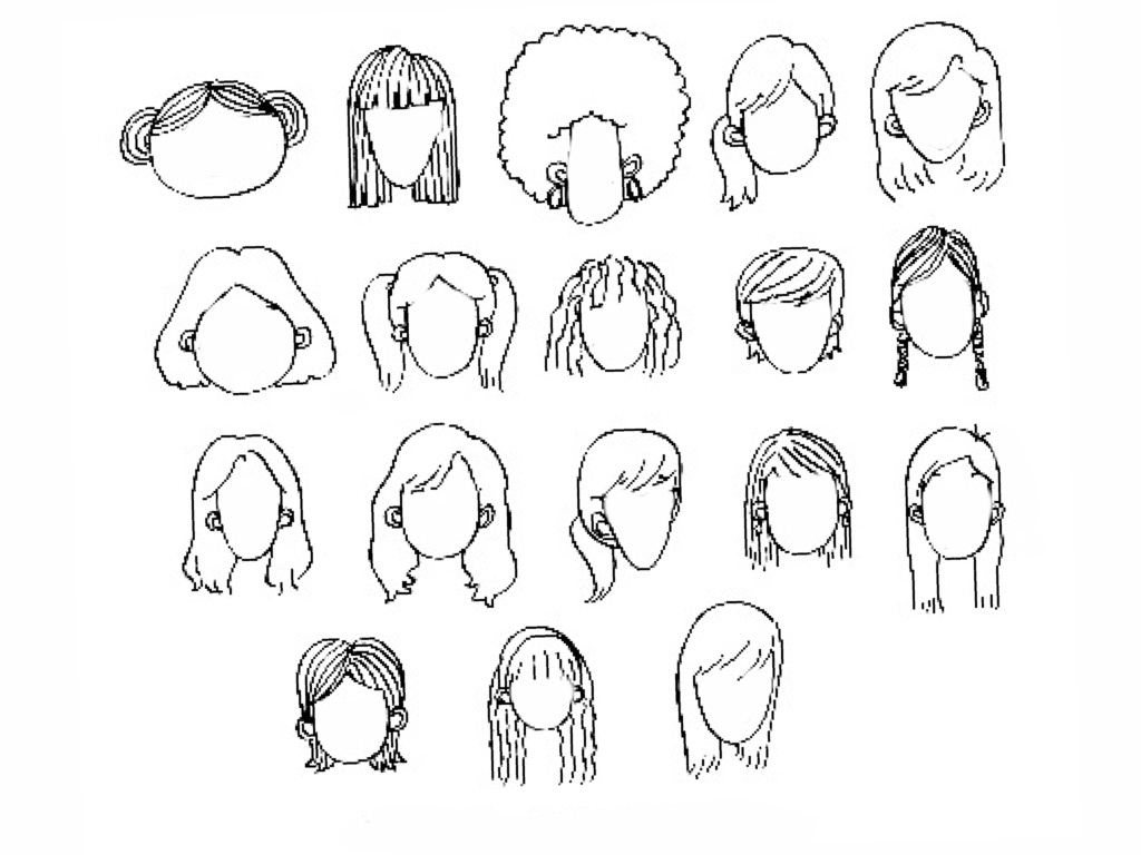1024x768 Easy Pencil Step By Step Drawings Face Drawing Step By Step How