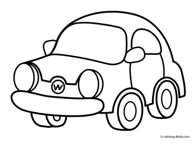 Simple Car Drawing Step Step At Getdrawings Com Free For Personal