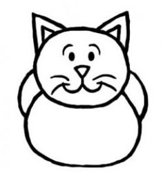 Simple Cat Drawing For Kids at GetDrawings.com