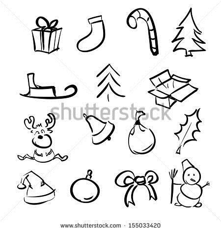 450x470 Simple Christmas Drawings For Cards Merry Christmas Amp Happy New