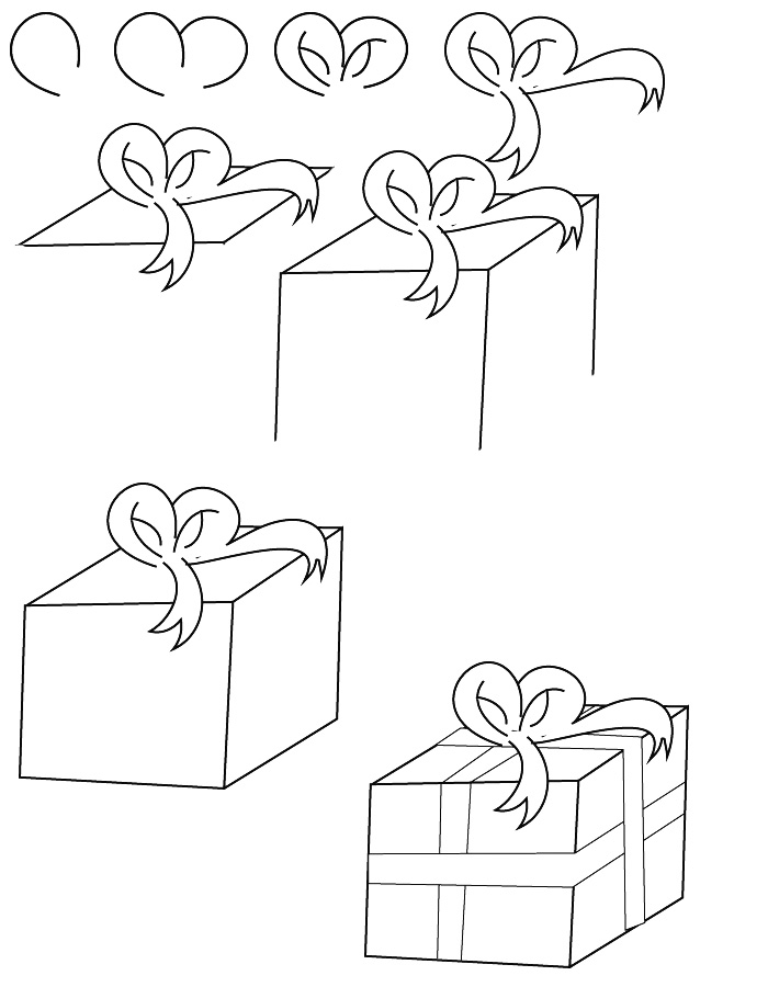 700x900 Christmas Pictures To Draw Step By Step My Drawings