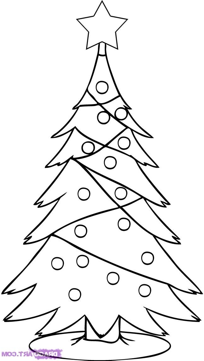 650x1148 Christmas Tree Drawing How To How To Draw A Realistic Christmas