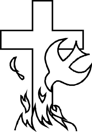 389x555 Holy Spirit Dove Drawing Simple