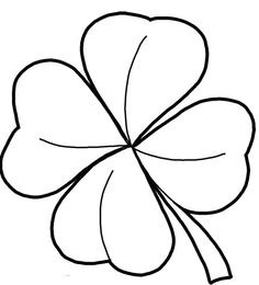 236x260 Simple Drawing Of Four Leaf Clover