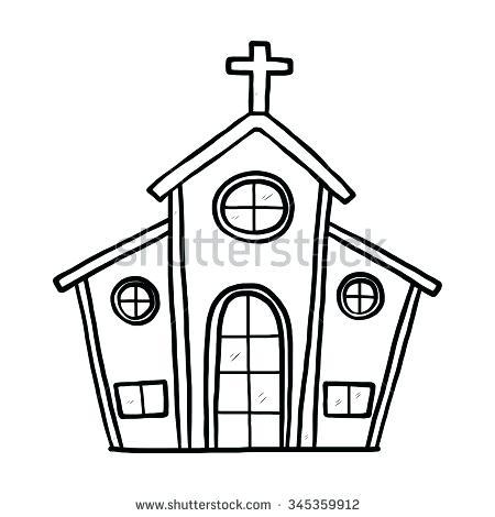 450x470 Church Clipart Pin Church Simple 7 Church Usher Clip Art Free