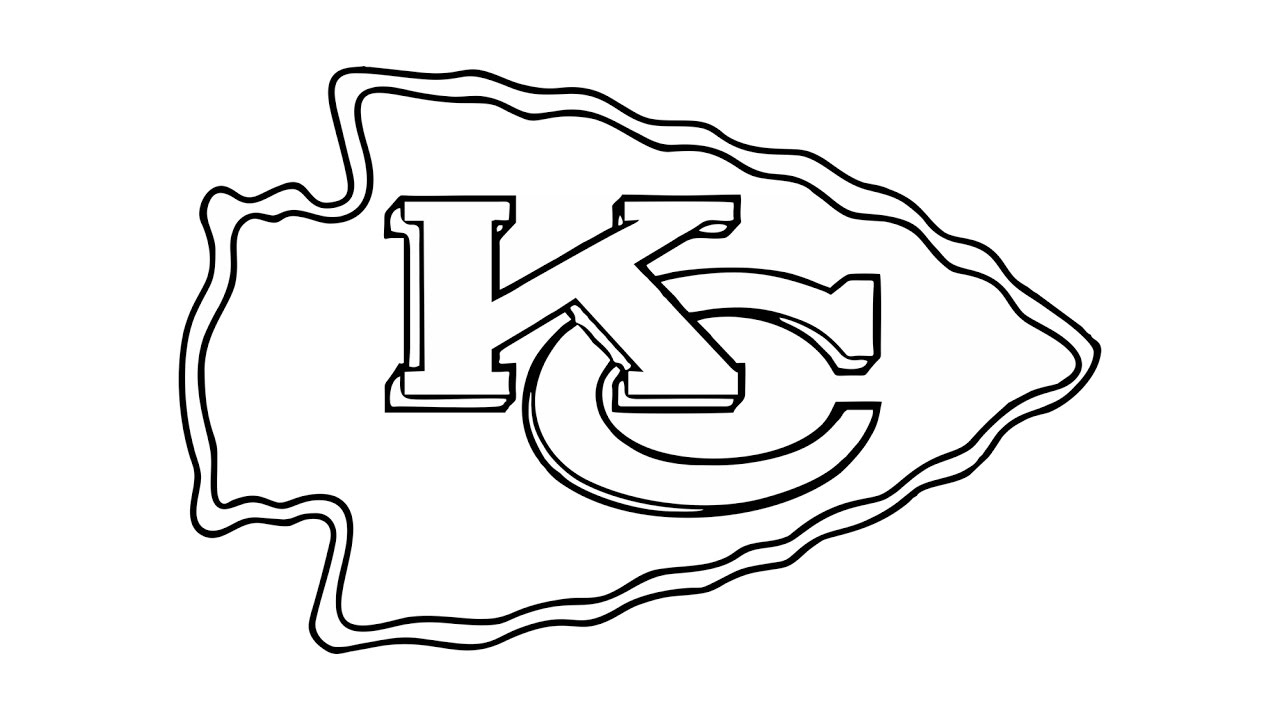 1280x720 How To Draw The Kansas City Chiefs Logo (Nfl)