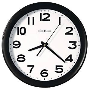 299x300 Howard Miller Easy Kenwick Wall Clock, 13 12, Black