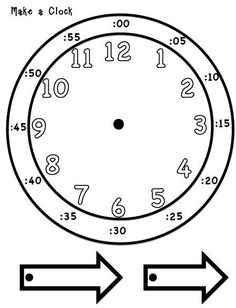 236x308 Two O'Clock Learning For Kids Clock Drawing