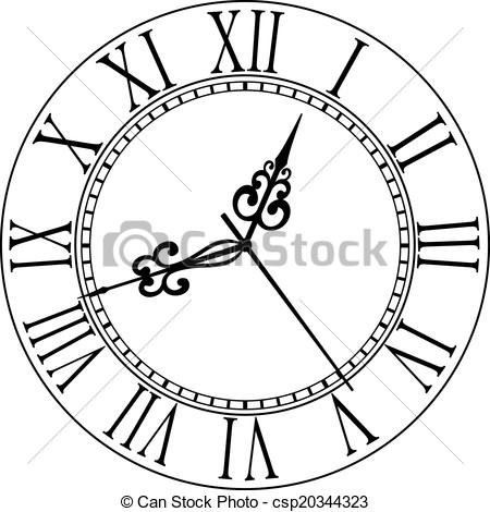 Simple Clock Drawing At Getdrawings Free Download