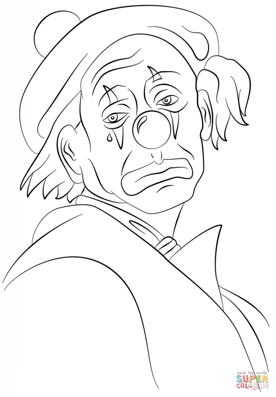 Simple Clown Drawing at GetDrawings