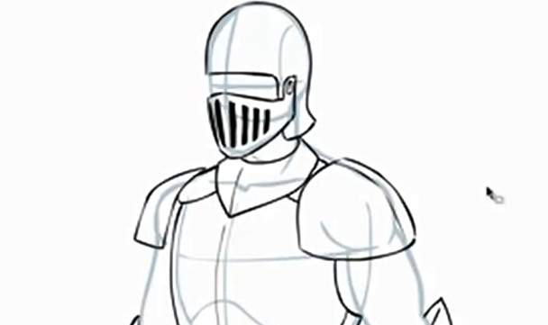 608x361 Comic Book Video Tutorials How To Draw Armor