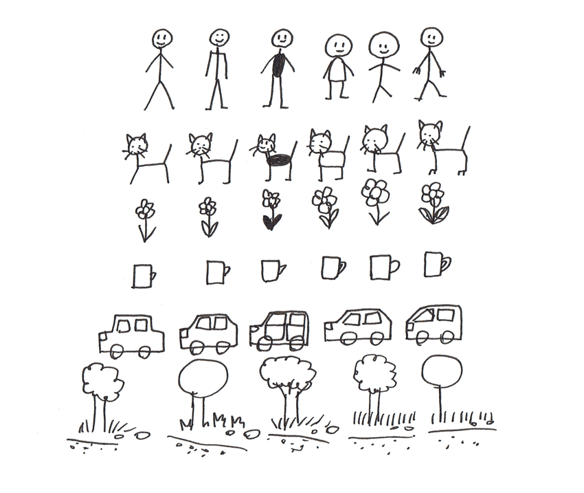 850x717 Art Therapy How To Draw A Stick Figure Comic