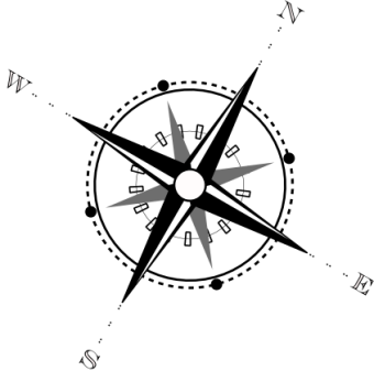340x337 Drawing A Compass Graphic With Inkscape. Inkscape Tutorials Blog