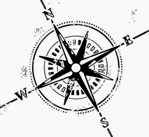 511x471 Black And White Compass Tattoo Design Anything