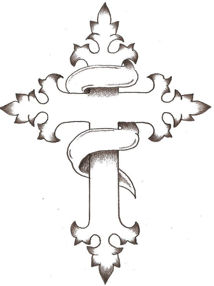 Simple Cross Drawing
