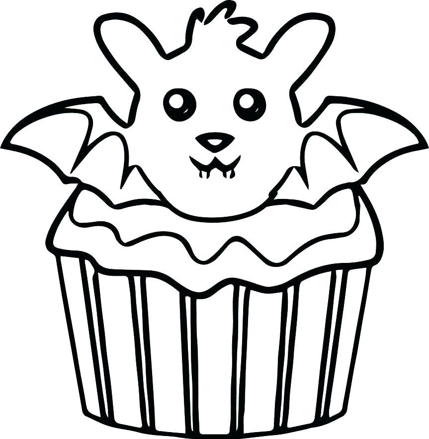 Simple Cupcake Drawing at GetDrawings   Free download