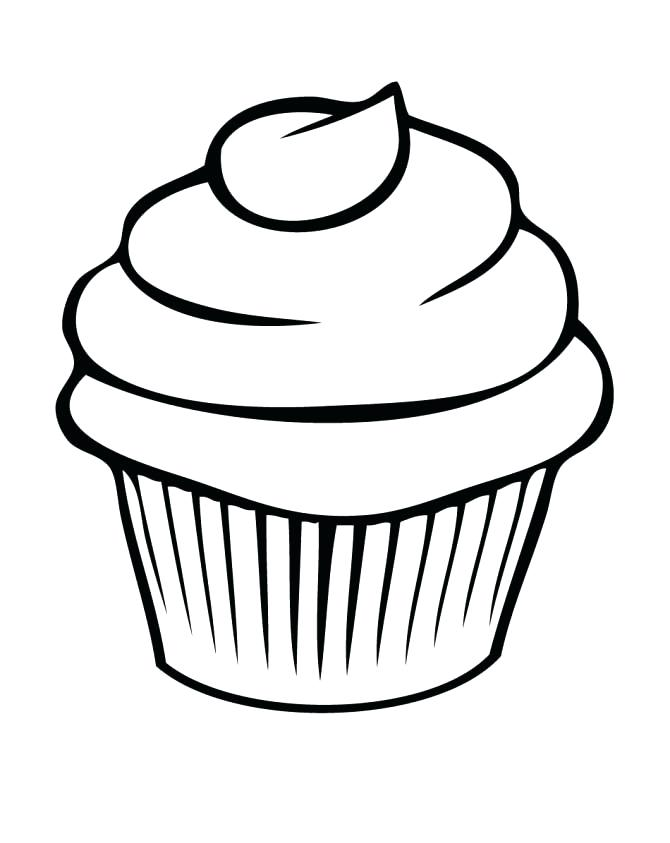 670x843 Cupcake Coloring Pictures View Larger Cupcake Coloring Pages