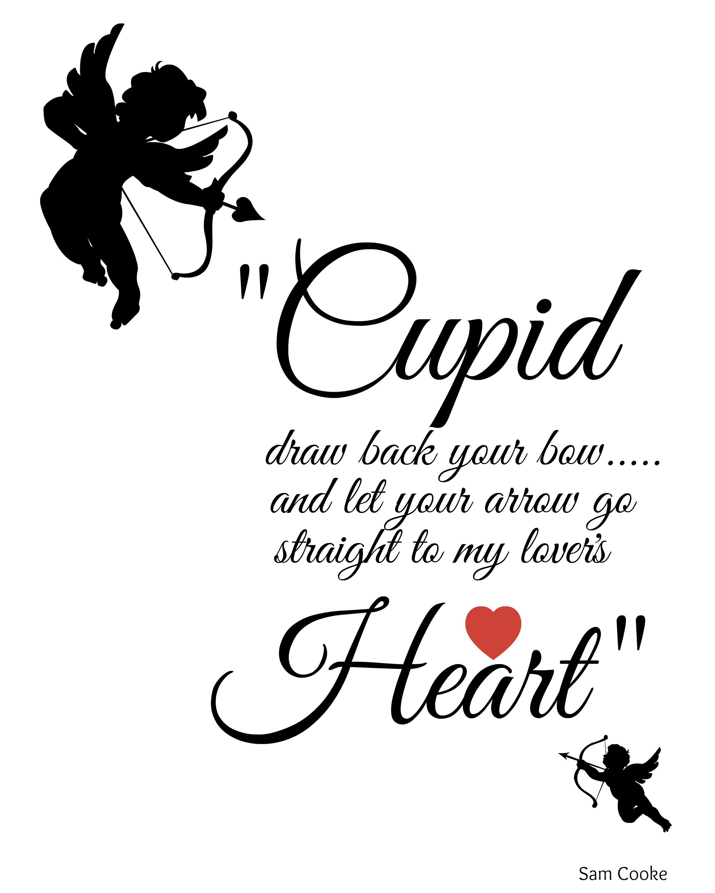 2400x3000 Cupid Draw Back Your Bow Cupid, Free Printable And Craft