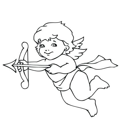 415x480 Cupid Pictures To Color Best Collection Coloring Pages