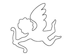 236x182 Best Photos Of Simple Cupid Outline