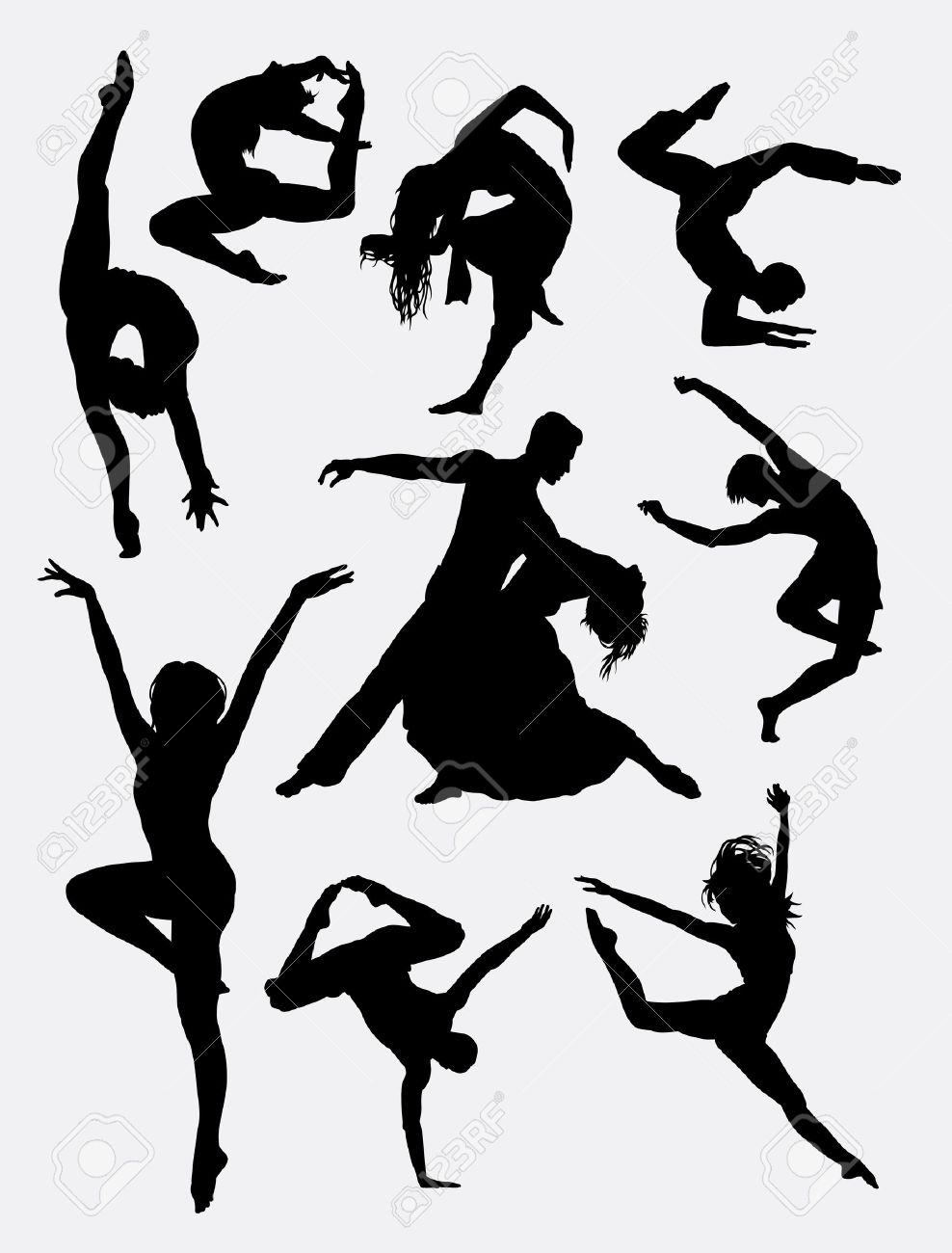 988x1300 552 Male Ballet Dancer Stock Illustrations, Cliparts And Royalty