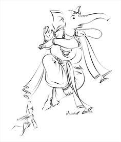 236x278 Photos Cutest Simple Ganesha Drawing,
