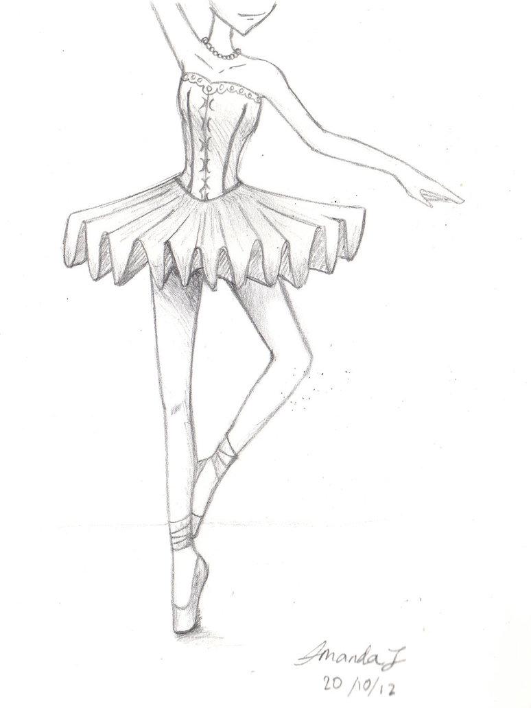 774x1032 Ballet Dancer Drawing Ballet Danceramandajay18