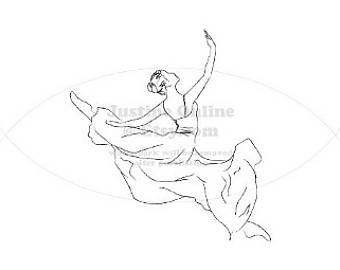 340x270 Ballet Line Drawings Etsy