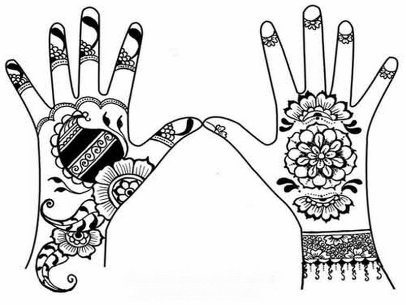 800x600 Henna Drawings Simple
