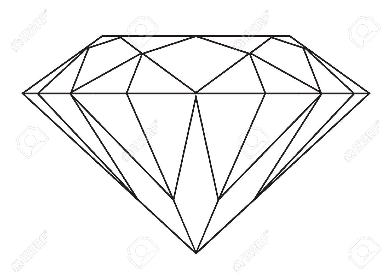 1300x925 Diamond Drawing Drawing A Diamond Drawing A Diamond
