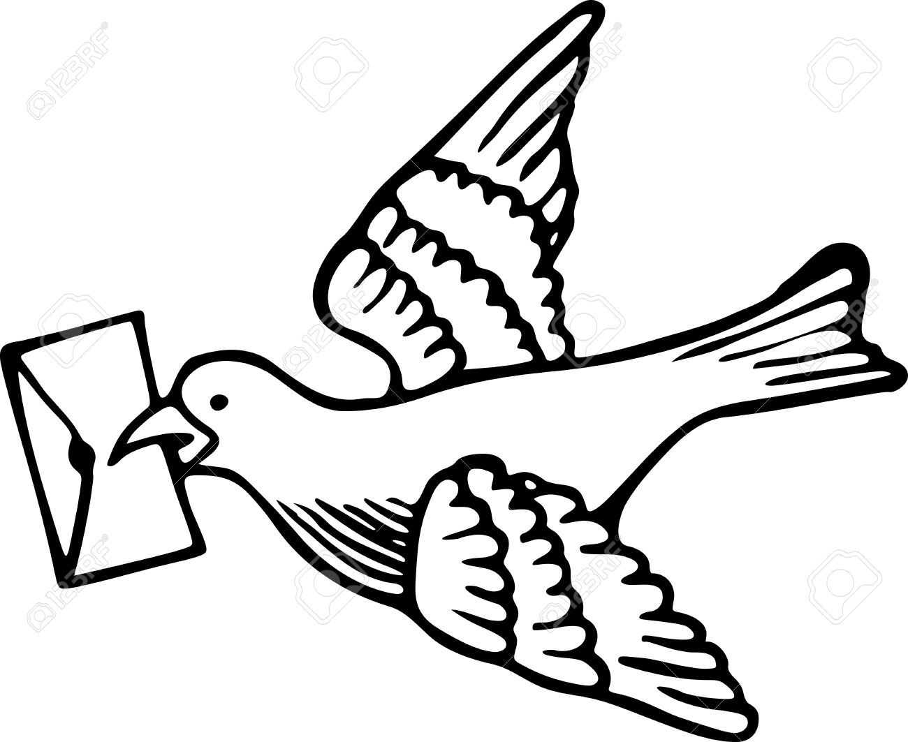 Cute Simple Line Art : Simple dove drawing at getdrawings free for personal use