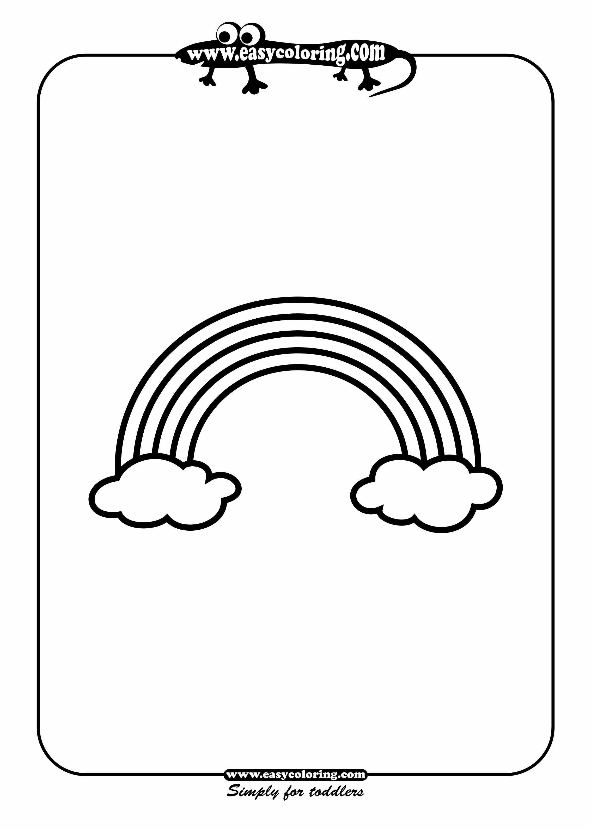 Simple Drawing For Toddlers