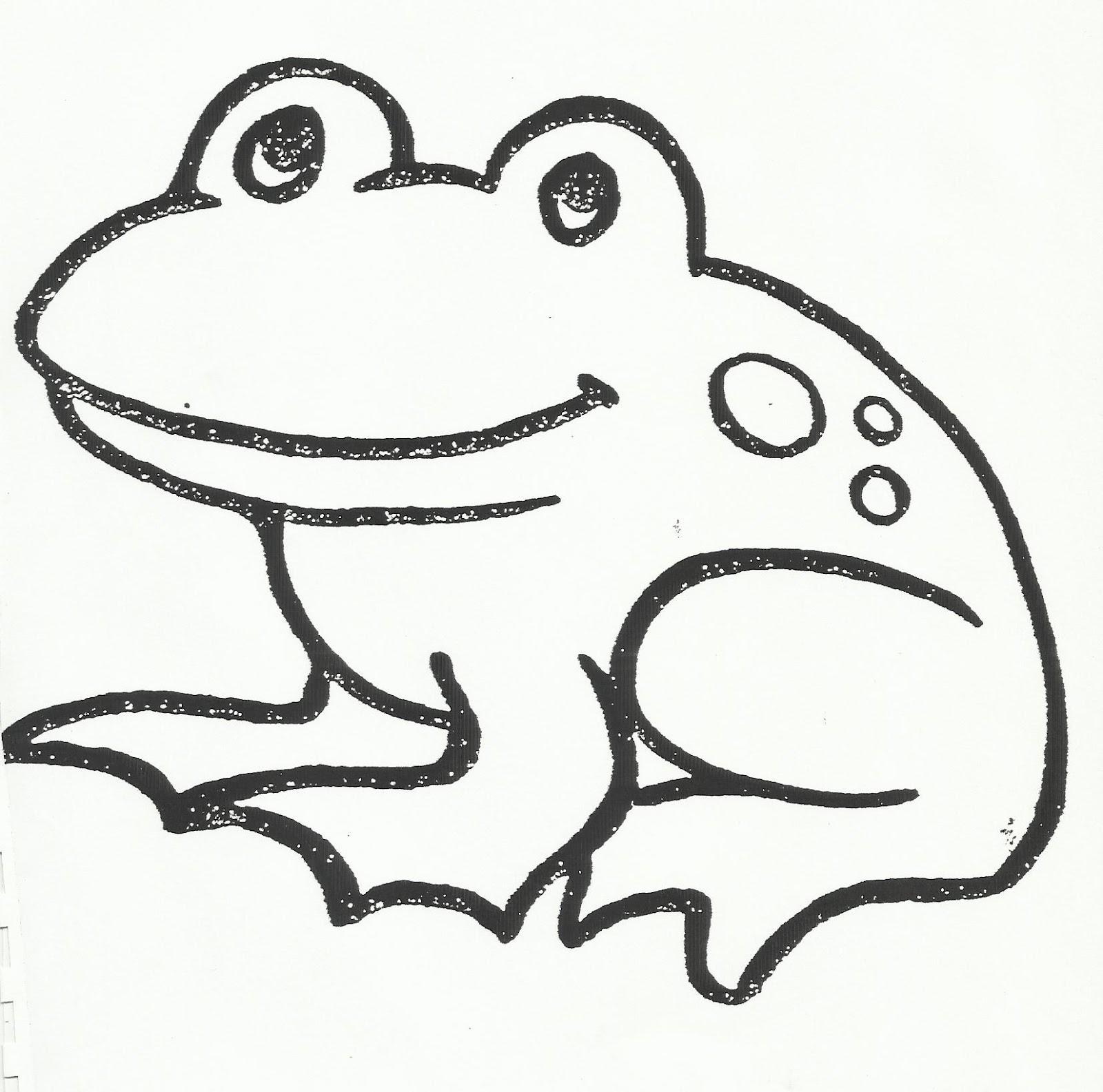 Simple Drawing Frog at GetDrawings   Free download