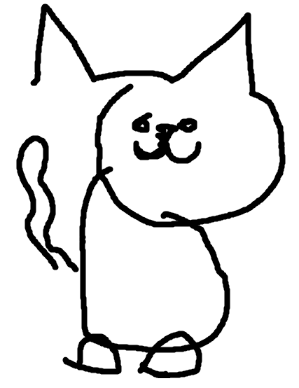 427x554 Draw A Cat In Ms Paint With Your Eyes Closed!