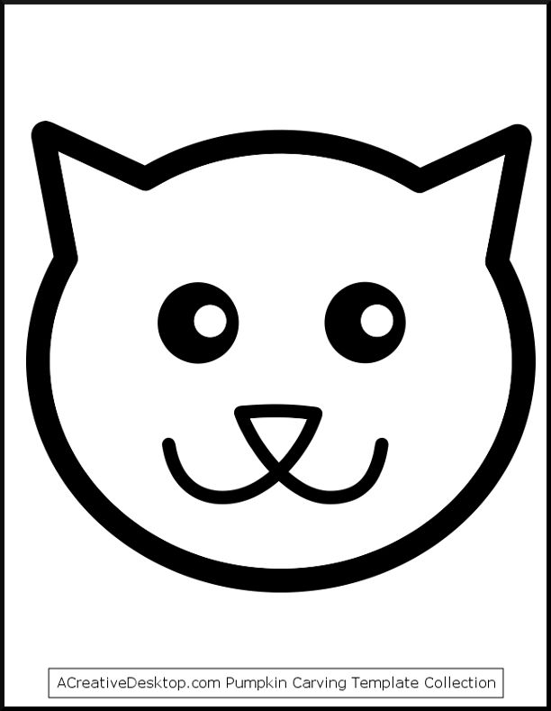 612x789 Pictures Cat Face Simple Drawing,