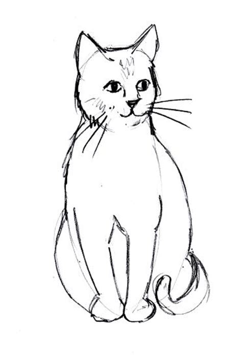 474x695 Cool Simple Drawings Of Cats