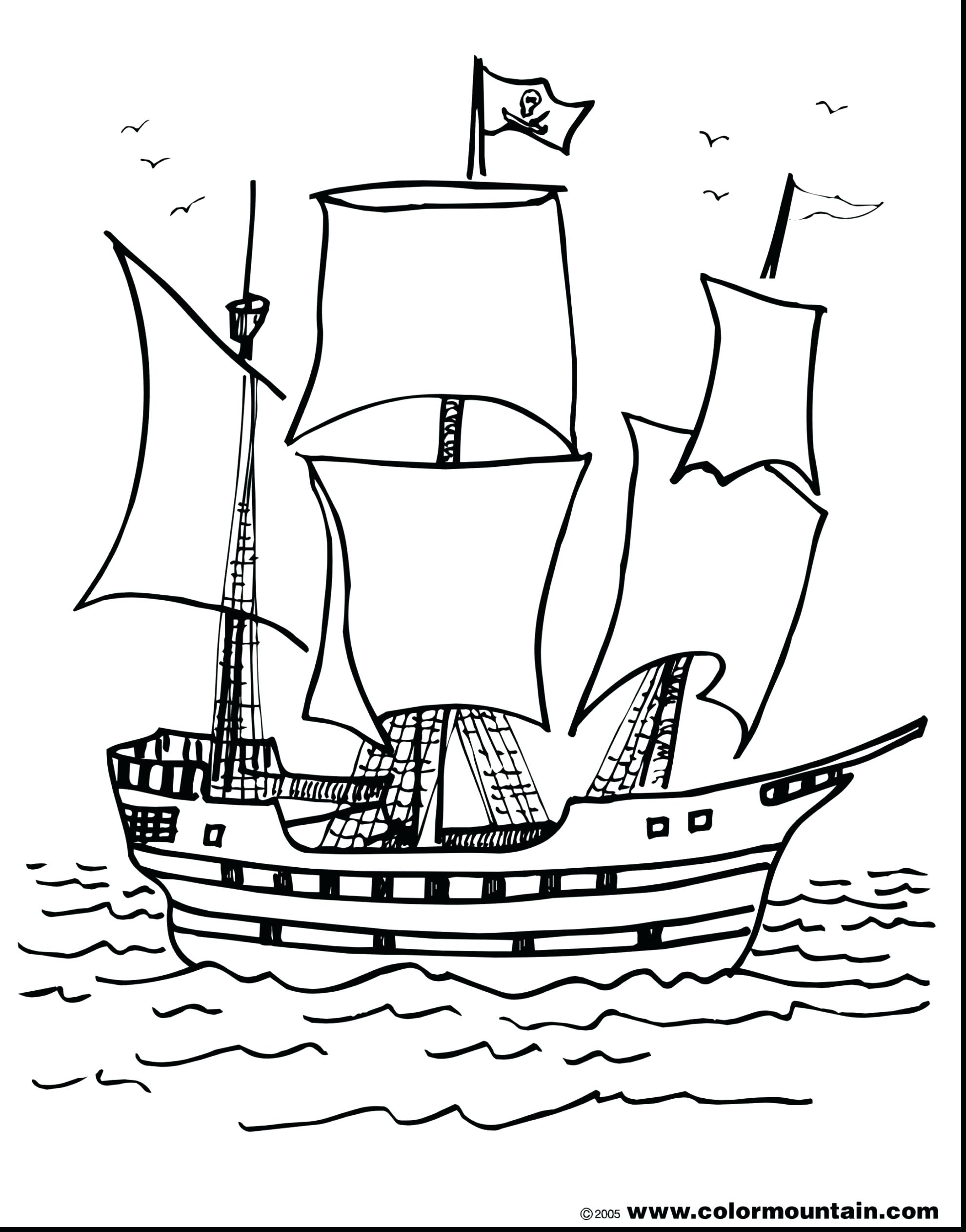 1980x2523 Coloring Pirate Ship Coloring Pages With Flag Bucky The. Pirate