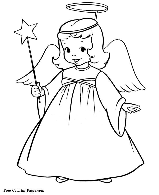 Simple Drawing Of Angels at GetDrawings.com | Free for personal use ...