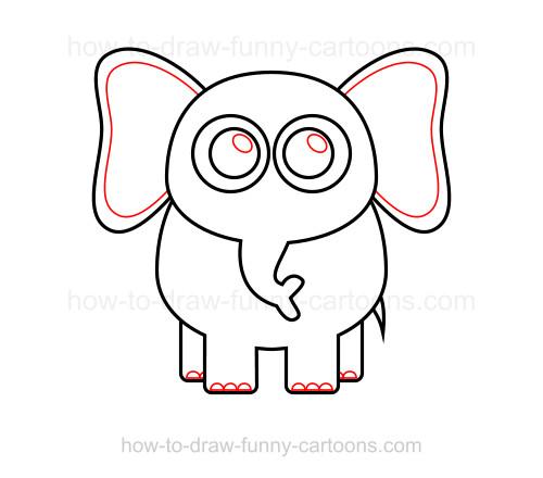 500x440 To Draw An Elephant