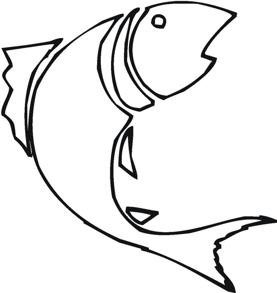 968x1024 Simple Drawing Of Fish Simple Drawing Of Fish