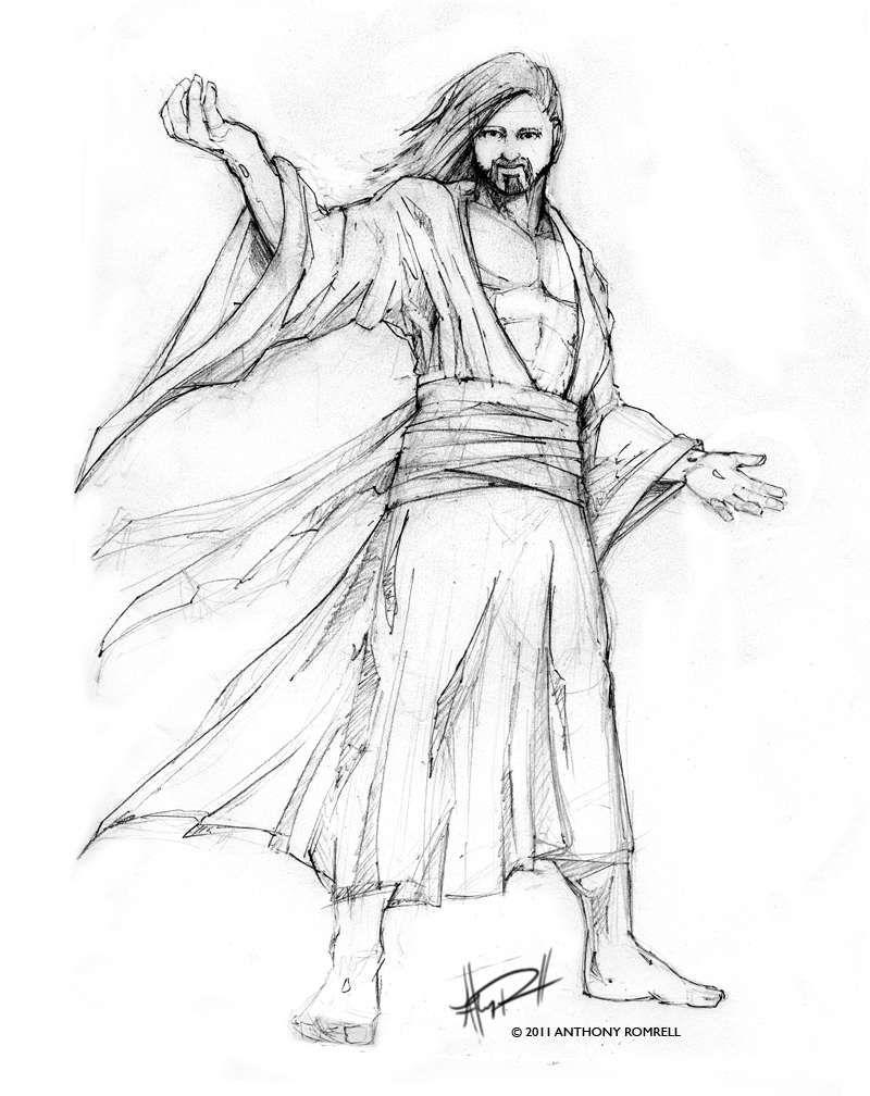 800x1008 Jesus Christ Simple Pencil Drawing Images